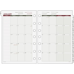 Day Runner Express Month-In-View Dated Calendar Refill DRN068685Y