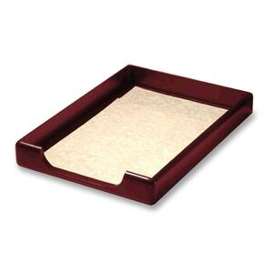 Rolodex Wood Tones Front Load Legal Tray ROL23360