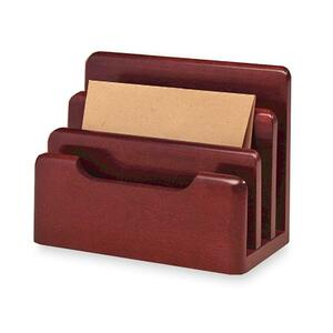 Rolodex Wood Tones Mini Sorter ROL23420