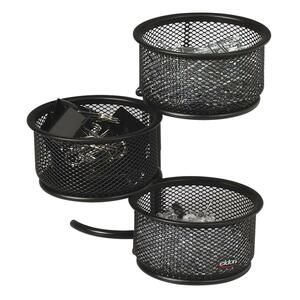 Rolodex Expressions Wire Mesh 3-Tier Swivel Tower ROL62533
