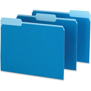 Pendaflex Two-Tone Color File Folder ESS15213BLU