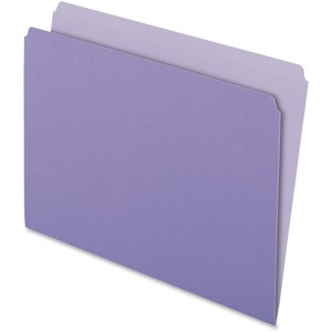 Pendaflex Two-Tone Color File Folder ESS152LAV