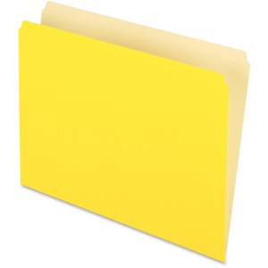 Pendaflex Two-Tone Color File Folder ESS152YEL