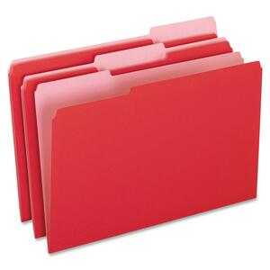 Pendaflex Two-Tone Color File Folder ESS15313RED