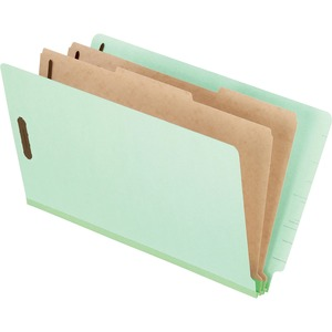 Esselte Pressboard Classification Folders With Divider ESS23324