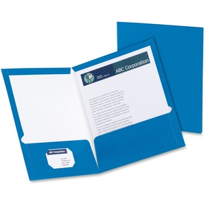 Oxford Laminated Twin Pocket Folders ESS51701
