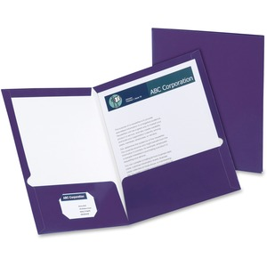Oxford Laminated Twin Pocket Folders ESS51726