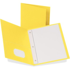 Oxford Twin-Pocket Folders with Fasteners ESS57709