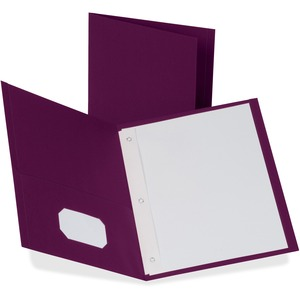 Oxford Twin-Pocket Folders with Fasteners ESS57757