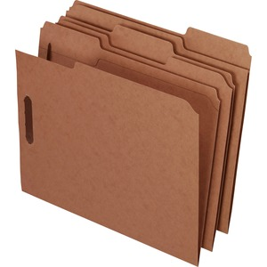 Esselte Kraft Rec Classification Folders With Fasteners ESSFK212