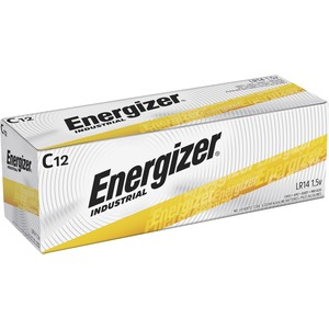 Industrial Alkaline Batteries, C, 12 Batteries/Box,Batteries EVEEN93
