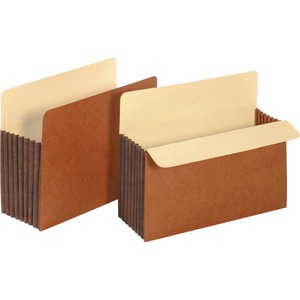 Globe-Weis File Pockets With Tyvek Tear Resistant Gusset GLW15444
