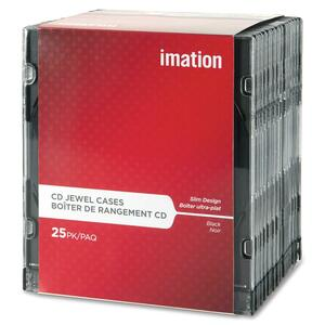 Imation CD/DVD Slim Design Jewel Case IMN41017