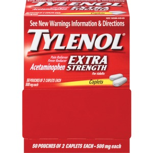 Johnson&Johnson Extra Strength Tylenol Caplets MCL44910
