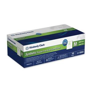 Kimberly-Clark Synthetic Powder-Free Exam Gloves KIM55032