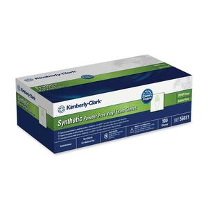 Kimberly-Clark Synthetic Powder-Free Exam Gloves KIM55034