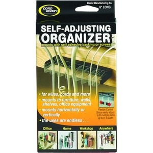 Master 00200 6 inch Cord Away Self-Adjusting Organizer MAS00200