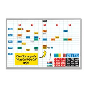 Magna Visual Economy Planner Board Kit MAVEBK2436