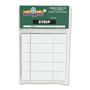 Magna Visual Magnetic Write-on/Wipe-off Strips MAVPMR721