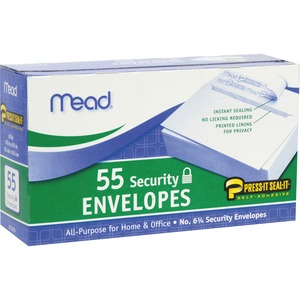 Mead Security Envelopes MEA75030