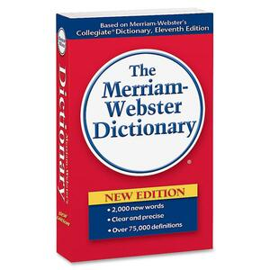 Merriam-Webster Paperback Dictionary 11th EditionDictionary Printed Book - English MER930