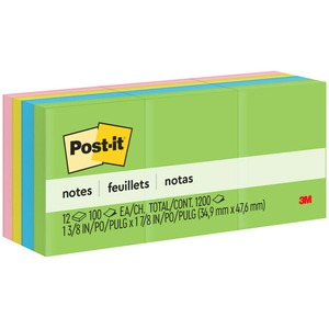 Post-it Notes in Ultra Colors MMM653AU