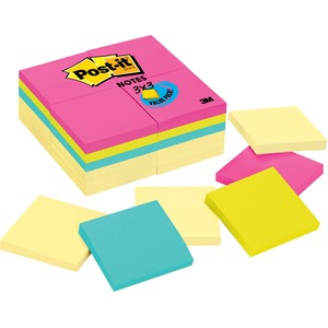 Post-it Notes Value Pack in Canary Yellow and Ultra Colors MMM654CYP24VA