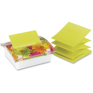 Post-it 3D Designer Note Pad with Dispensor MMMDS330LSP