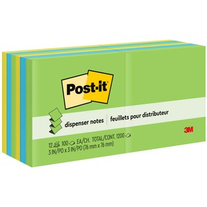 Post-it Pop-up Notes in Ultra Colors MMMR33012AU