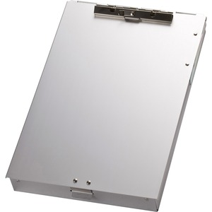 OIC Aluminum Storage Clipboard with Calculator OIC83201