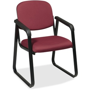 Office Star V4410 Deluxe Sled Base Arm Chair OSPV441074