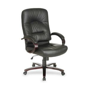Office Star WD5330 High Back Executive Leather Chair OSPWD53303