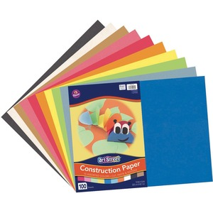 Rainbow Super Value Construction Paper PAC94460