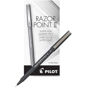Pilot Super Fine Point Razor II Marker PIL11009