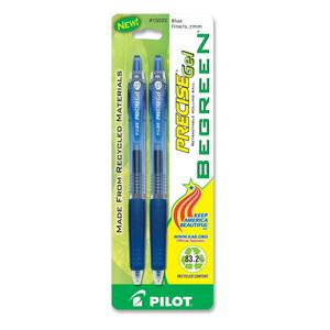 Pilot Precise BeGreen Retractable Rolling Ball Gel Pen PIL15022
