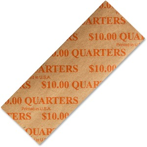 PM SecurIT $10 Quarters Coin Wrapper PMC53025
