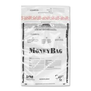 PM SecurIT Plastic Disposable Deposit Money Bag PMC58004