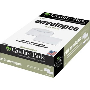 Quality Park Laser/Inkjet Regular Business Envelopes QUA11184
