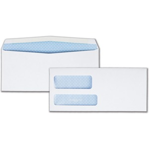 Quality Park Double Window Envelope QUA24524