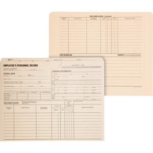 Quality Park Employee's Personnel Record Jackets QUA70010