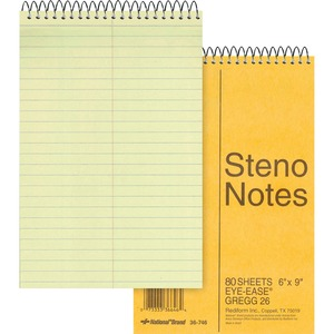 Rediform National Steno Notebook RED36746