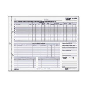Rediform Snap-A-Way Detailed Expense Report RED44B950N