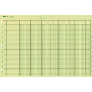 Rediform National Side Punched Analysis Pad RED45613