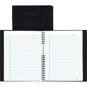 Rediform NotePro Wirebound Professional Notebook REDA10200BLK