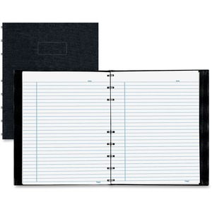 Rediform NotePro Wirebound Professional Notebook REDA7150BLK