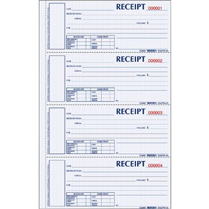 Rediform Money Receipt Book REDS1654NCR