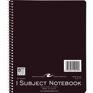 Roaring Spring 1-Subject Wirebound Notebook ROA12010