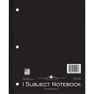 Roaring Spring 1-Subject Tapebound Notebook ROA20195