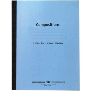 Roaring Spring Tapebound Composition Notebook ROA77501