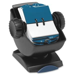 Rolodex Swivel File With See-through Cover ROL66871